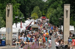 The Central Pennsylvania Festival of the Arts. Photo courtesy of Penn State News.