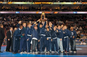 Nittany Lion Wrestlers Celebrate!