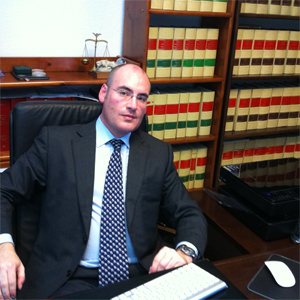 Jose Francisco Llompart in his office.