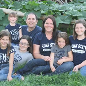 Jeremy Pattillo and family.
