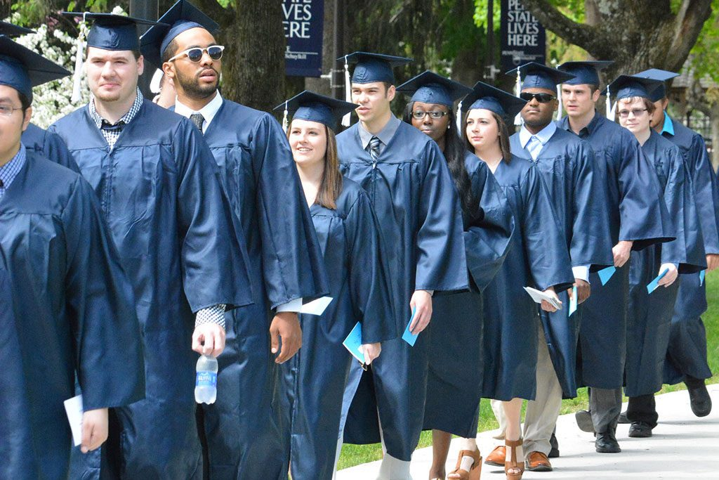 Graduating Penn State Students