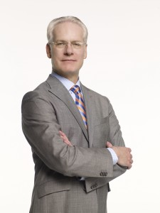 Fashion expert, Tim Gunn spoke at a live-streaming event Thursday, November 8.