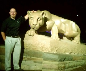 chase kelly at nittany lion shrine