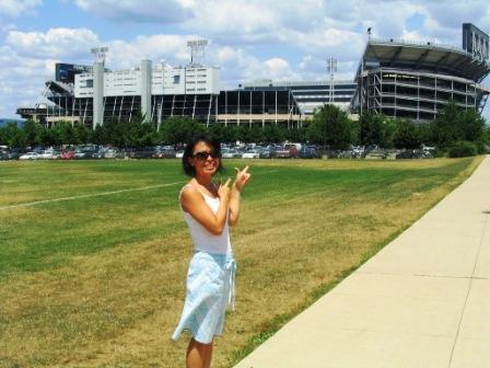 Ayaka at Beaver Stadium