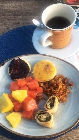 typical Colombian breakfast