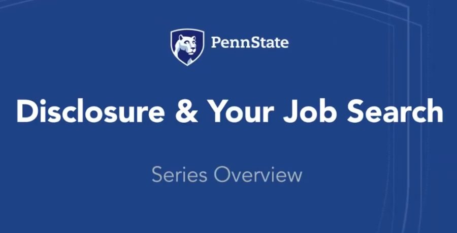 Disclosure and the job search