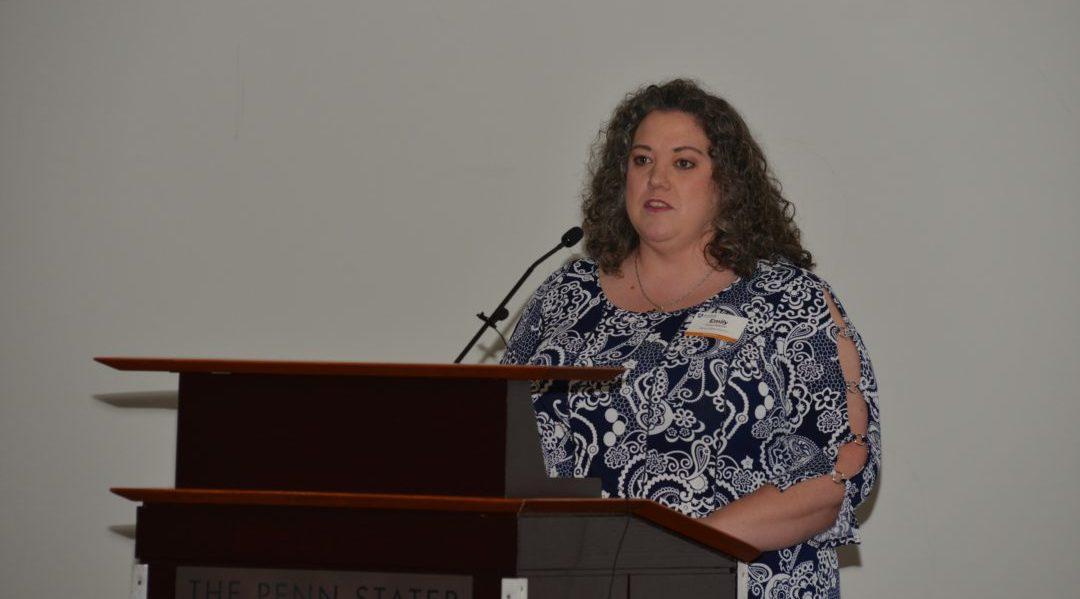 Graduation speaker Emily Bowmer